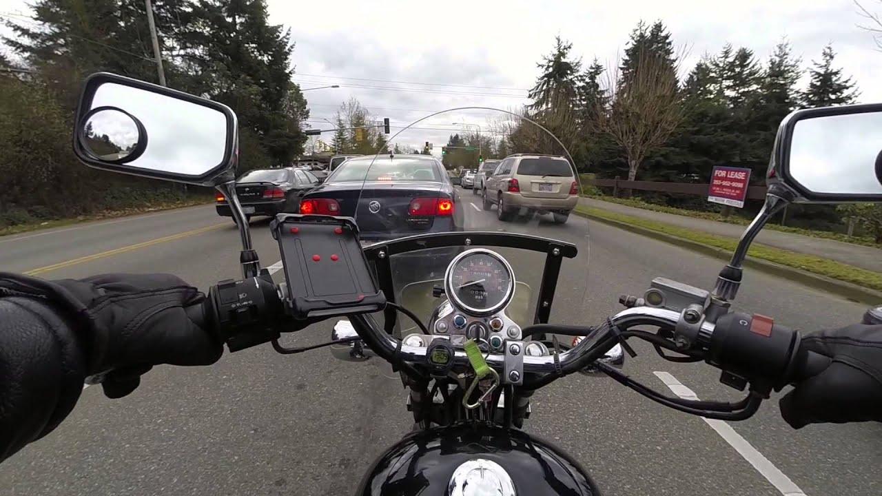 2006 Honda Rebel 250 POV Ride - YouTube