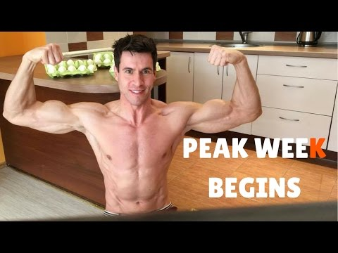 Peak Week Begins Prepping For Rich Piana & BodyPower Expo 2017 I Meal Prep & Physique Update