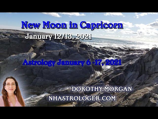New Moon Capricorn January 13, 2021 Mars Jupiter Uranus Rebel