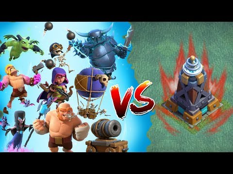 ALLE TRUPPEN vs MEGATESLA! ☆ Clash of Clans ☆ CoC