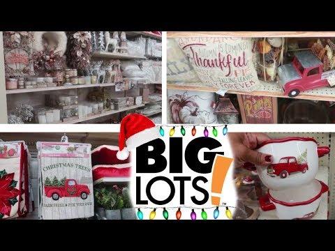 COME WITH ME TO BIG LOTS!!! CHRISTMAS 2018 & FALL HOME DECOR thumbnail
