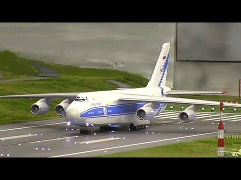 ᴴᴰ ✈ Worlds BIGGEST #MODEL #AIRPORT – 1:87 – #MiWuLa Hamburg