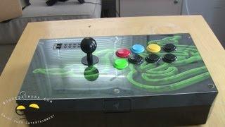 Razer Atrox Arcade Stick For Xbox 360 Unboxing