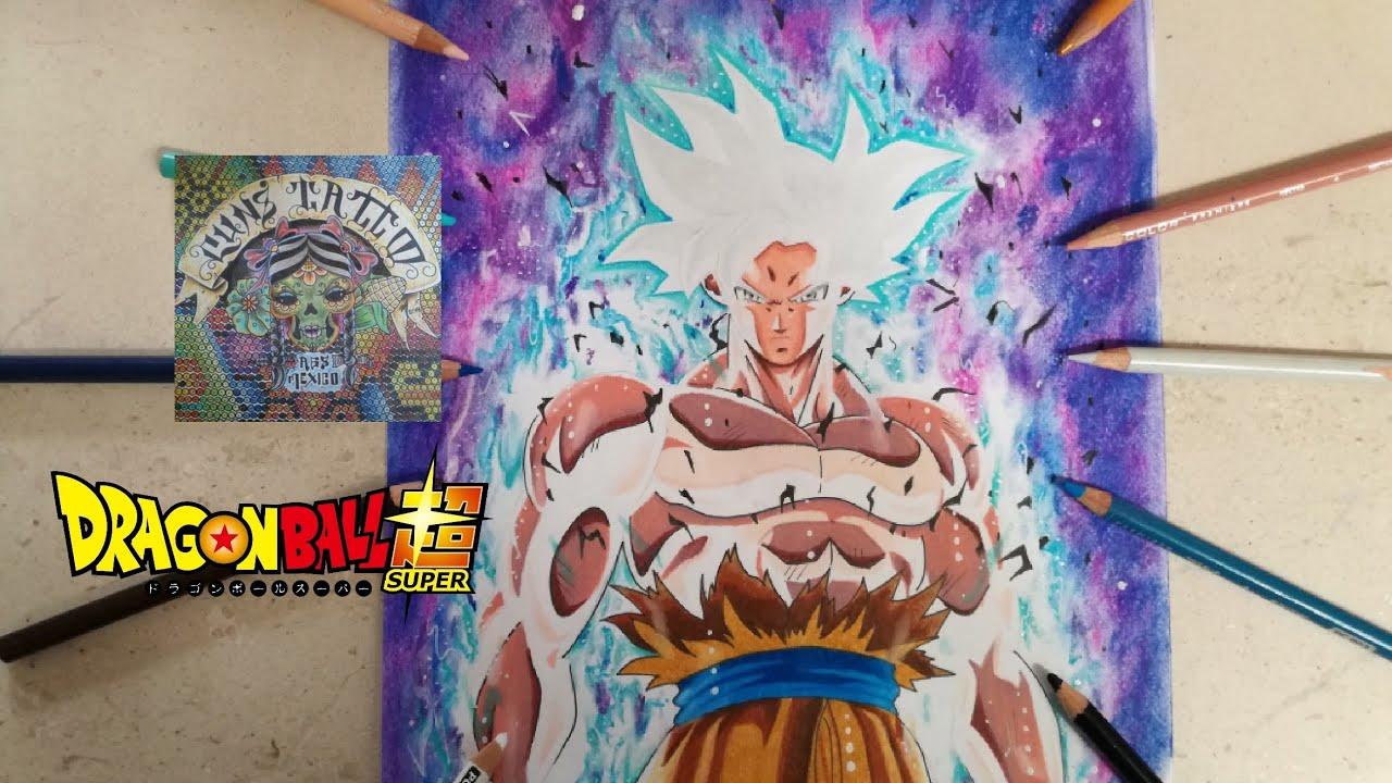 Colorear Goku Goku Ultra Instinto Dominado Para Colorear: Goku Ultra Instinto Dominado Dbzsuper Para Dibujo T