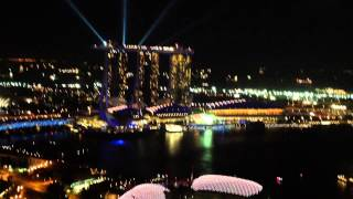 [MY TRIP] ASIA 2015. Wonderful Night View of my room @ Swissôtel The Stamford - Singapore