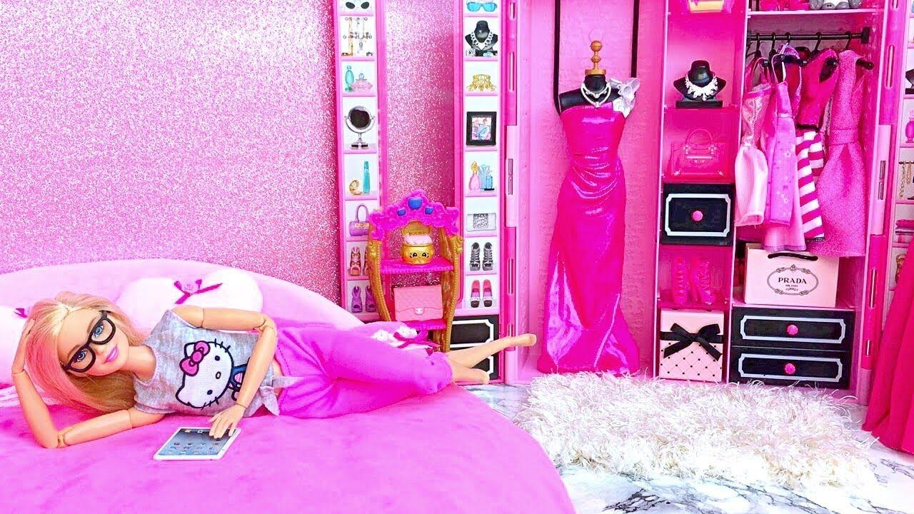 Barbie Doll Pink Bedroom Cheap Online