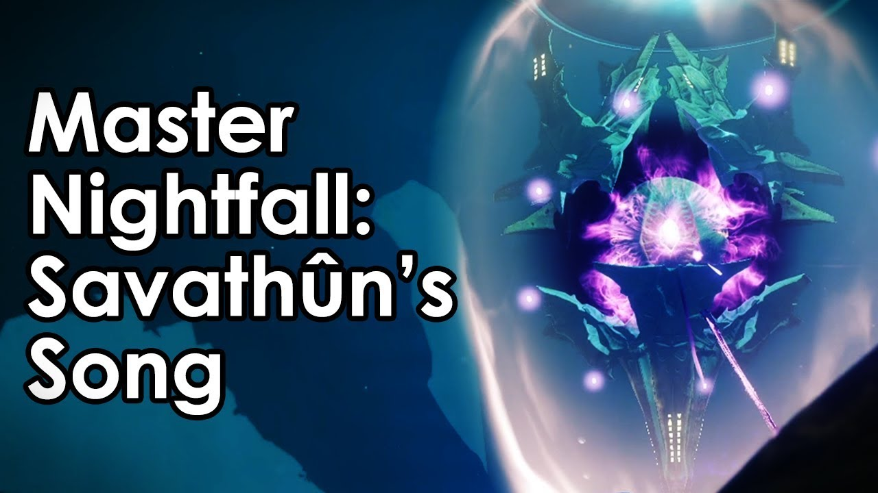 Destiny 2: 980 Master Nightfall - Savathun's Song (No Izanagi/Divinity)