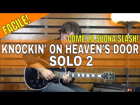 Knocking on heavens door guns n roses parte 33 secondo knocking on heavens door guns n roses parte 33 secondo assolo tutorial lezione chitarra fandeluxe Ebook collections