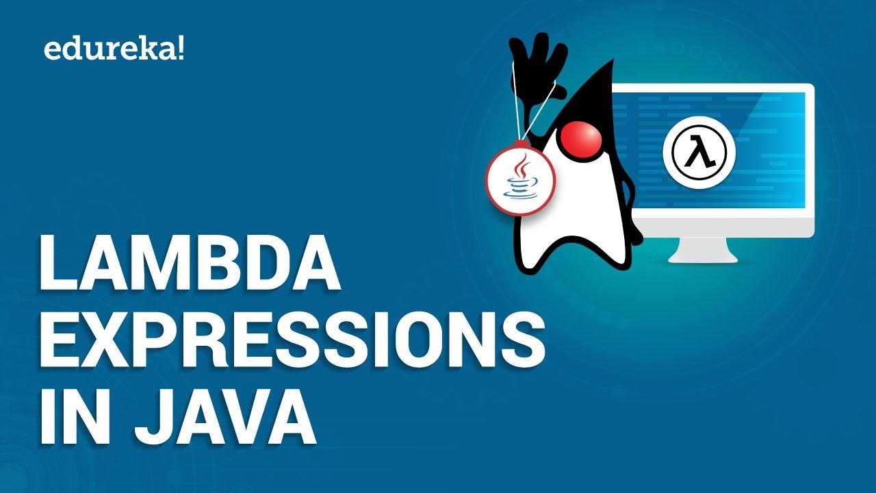 Lambda Expressions in Java   Java Lambda Tutorial   Java