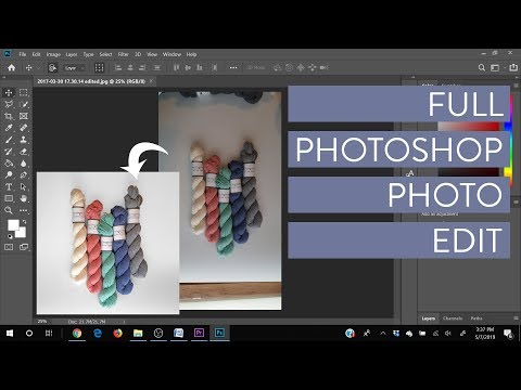 Photoshop CC 2019 Tutorial - Full Product Photo Edit thumbnail