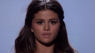 "More from entertainment tonight: http://bit.ly/1xtqtvw selena gomez ""the heart wants what it wants,"" at the american music awards performance. taylor swift c..."