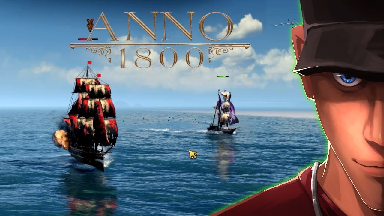 Anno 1800 Beta - Part 2 Naval Combat - Workers Iron and Ship Building! |  Let's play Anno 1800 Beta