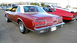 CANADIAN '78 PLYMOUTH CARAVELLE COUPE / 318 START UP