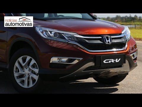 Novo Honda CR V 2016 NoticiasAutomotivas.com.br