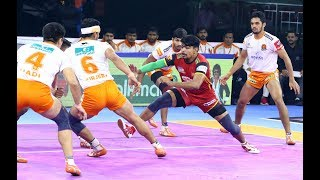 Pro Kabaddi 2019 Highlights Puneri Paltan Vs Bengaluru Bulls