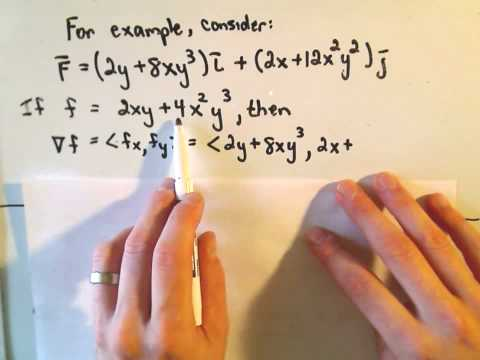 Conservative Vector Fields - The Definition and a Few Remarks