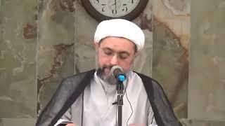 الشيخ عبدالله دشتي - الحقوق الشرعية سبب سجن هارون العباسي للإمام موسى الكاظم عليه السلام