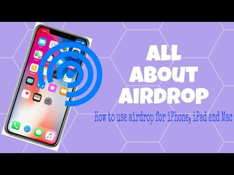 (2019) HOW TO AIRDROP: iPhone, iPad, Mac- New Control Centre