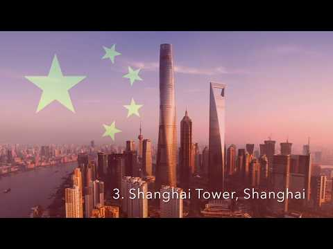 Top 10 Tallest Freestanding Structures 2017