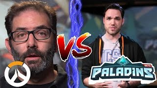 Overwatch Devs VS Paladins Devs