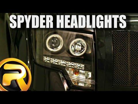 hook up halo headlights