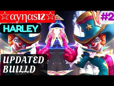 Updated Build [Rank 3 Harley] | ☆αуηαѕız☆ Harley Gameplay and Build #2 Mobile Legends