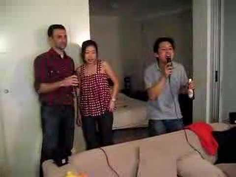IRM Steamboat and karaoke: Careless Whispers