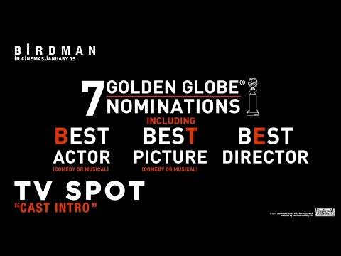 BIRDMAN ['Cast Intro' TV Spot In HD (1080p)]