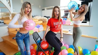 First To Finish Popping Balloons Wins $5000!