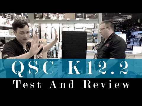 QSC K12.2 Test And Review. Do you need a SUBWOOFER?
