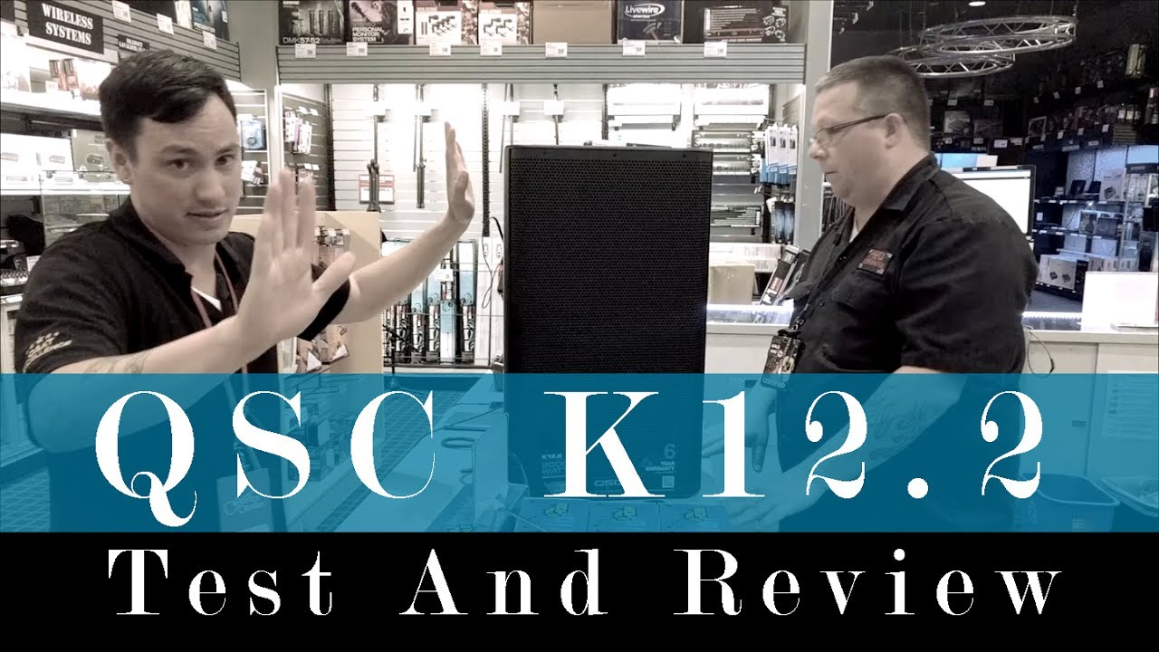QSC K12 2 Test And Review  Do you need a SUBWOOFER?