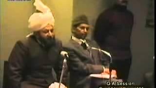 Majlis e Irfan 24 December 1985.