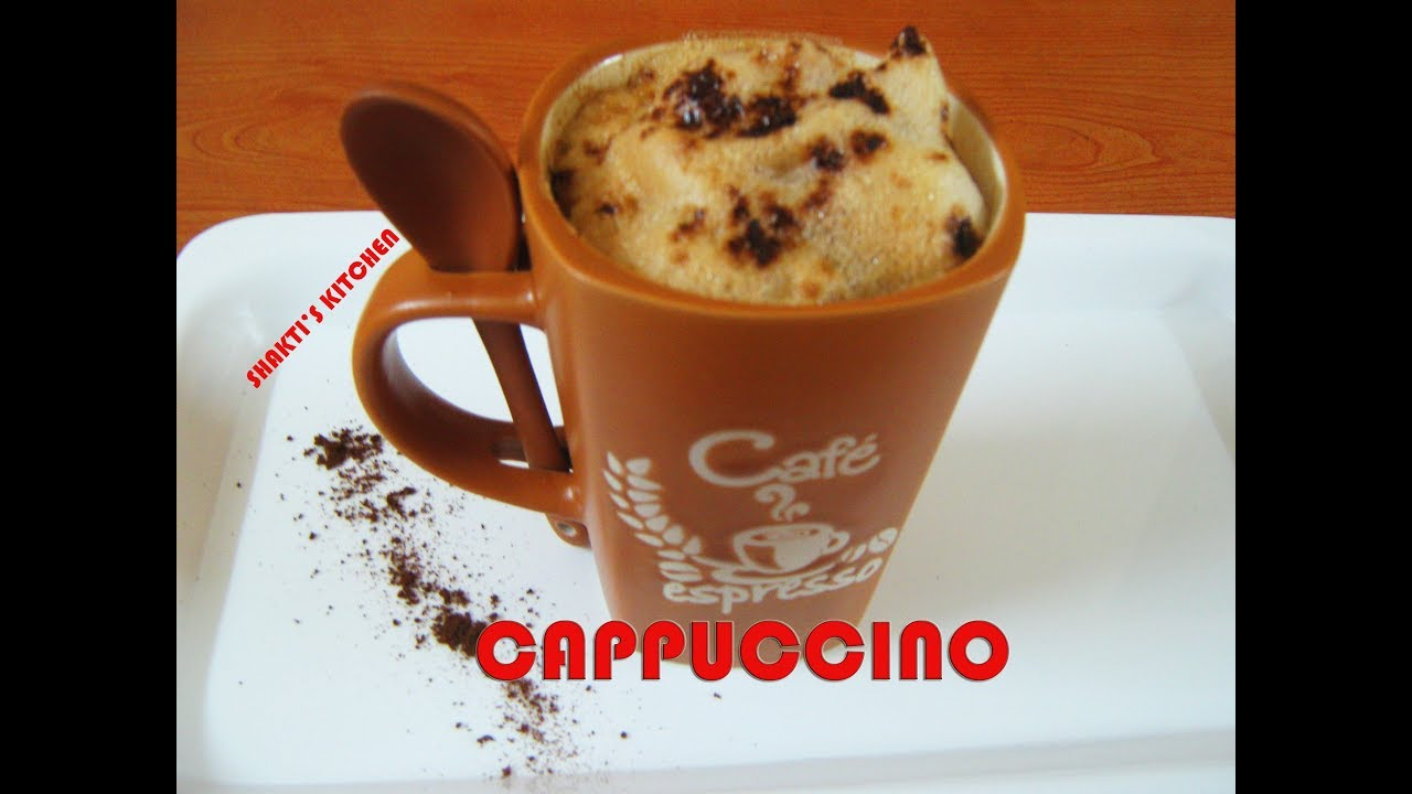 Coffee Cappuccino Recipe in Hindi- How to make Cappuccino ...