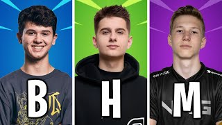 Best Fortnite Players Of Each Letter! (A to Z)