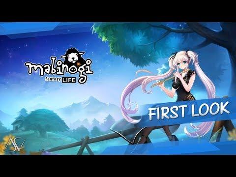 Mabinogi: Fantasy Life (Android/iOS) – First Look Gameplay!