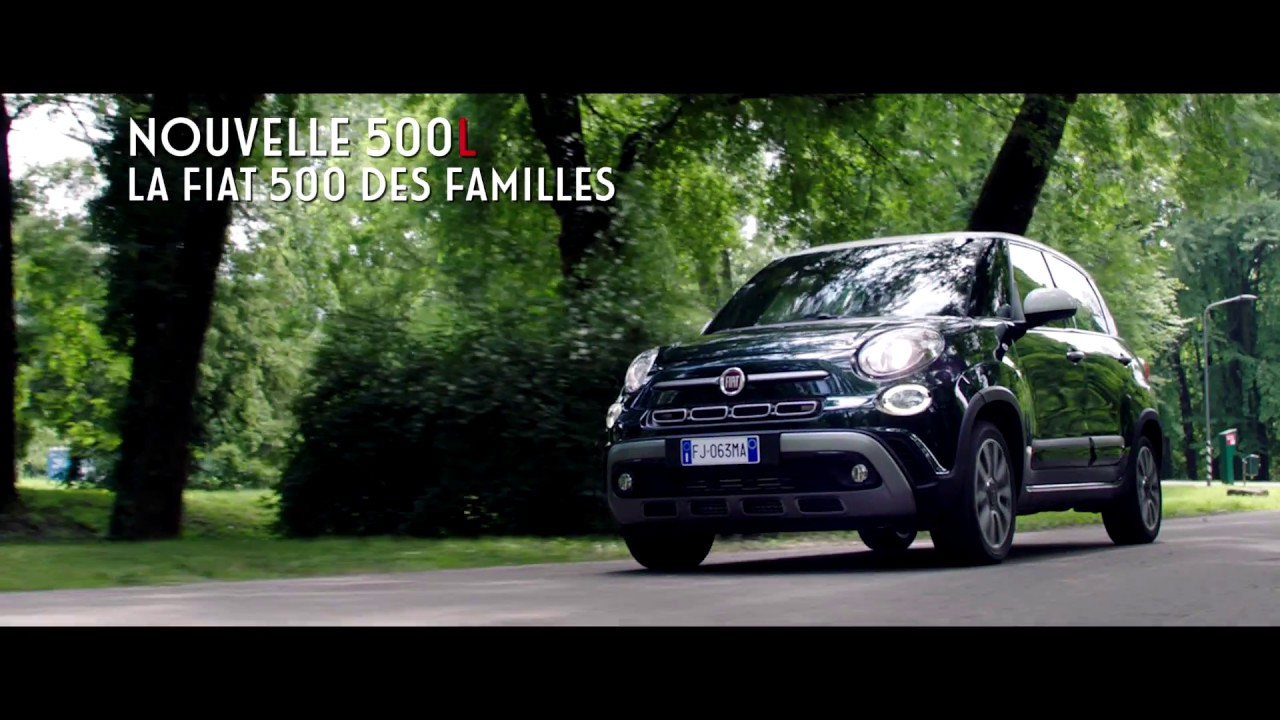La Nouvelle Fiat 500l Tv Spot 2017 Youtube
