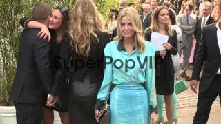 Donna Air arriving for the summer party at The Serpentine...