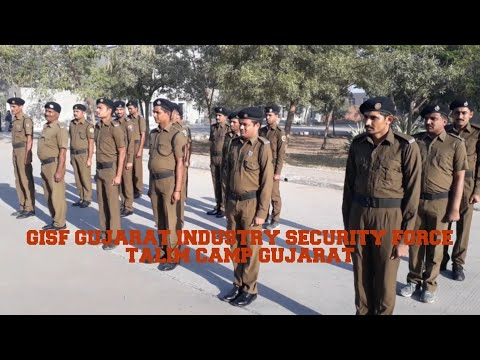 Gujarat industry security forces guard in Rajkot gec