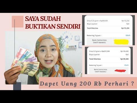 Cara Dapat Uang 200 RB Perhari ! Mudah Dengan Kerja Online 2020| Tanty Rahayu