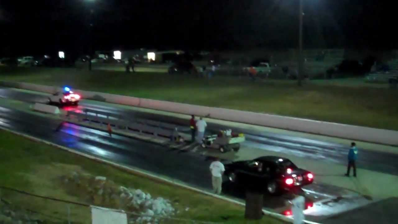 7.50 class King of the Street finals at Lassiter Mountain Dragway 11/3/12
