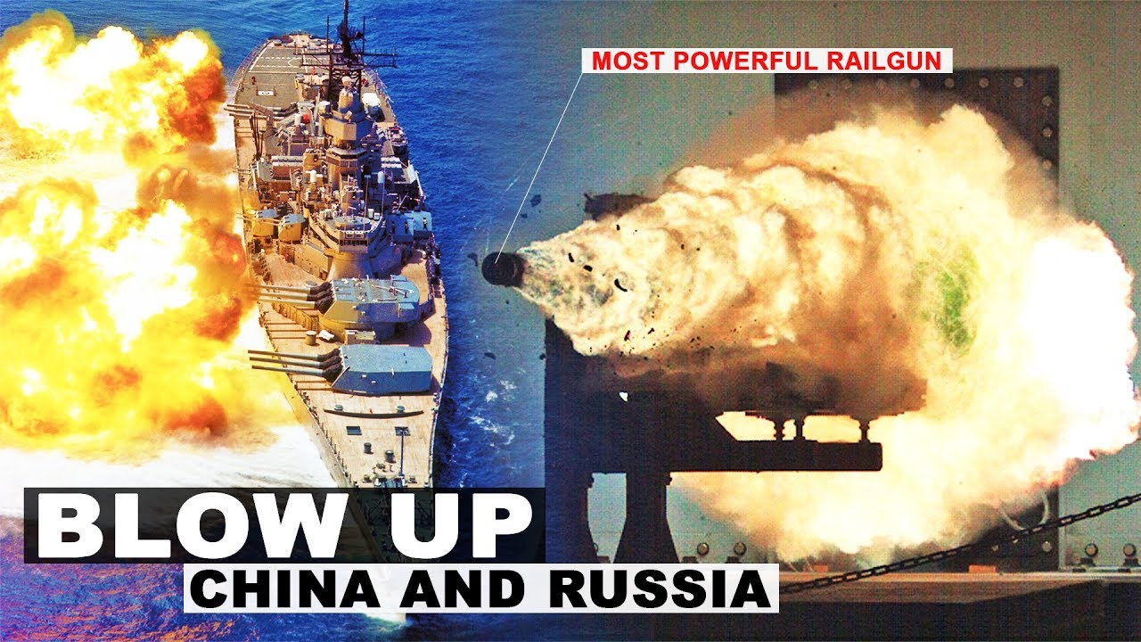 US Navy Big Railguns Plan to Blow Away China and Russia in a War