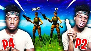 I FOUND MY *SECRET* TWIN BROTHER PLAYING FORTNITE DUOS... MEETING P4istheName!