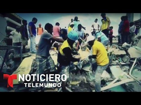 Nuevo sismo de 6,2 puntos de magnitud sacude Ecuador | Noticiero | Noticias Telemundo