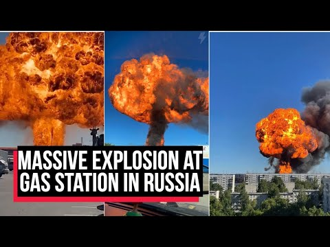 WATCH: Massive explosion at gas station in Novosibirsk, Russia; at least 26 injured | COBRAPOST