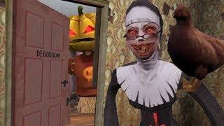 NUEVA ACTUALIZACIÓN !! ABRO LA PUERTA DE DEGOBOOM Y UNA GALLINA !! - Evil Nun (Horror Game)