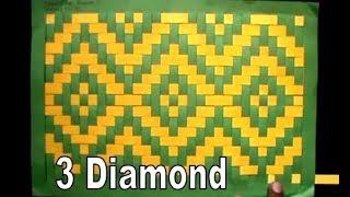 Gambar cover Kreative Anyaman 3 Diamond Bahan Kertas