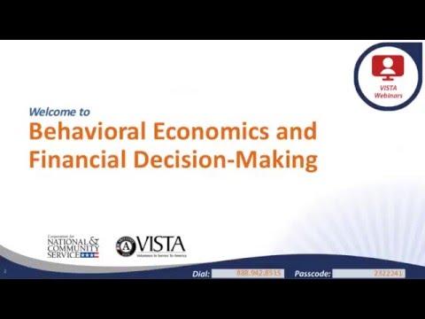 Behavioral Economics and Financial Decision Making