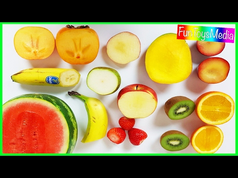 Thumbnail: Learn Fruits with Smoothies for Children, Toddlers and Babies | Kids Fruits Blender Cooking