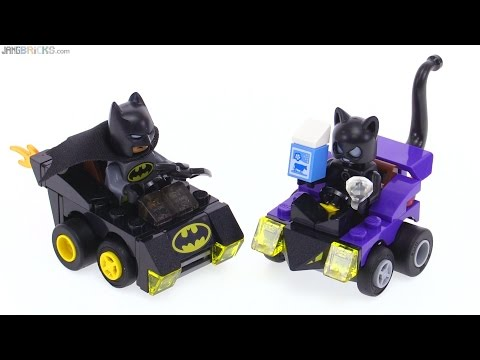 LEGO Mighty Micros Batman vs Catwoman review! 76061