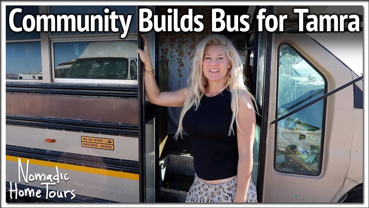 Community Donates Bus RV to Young Woman